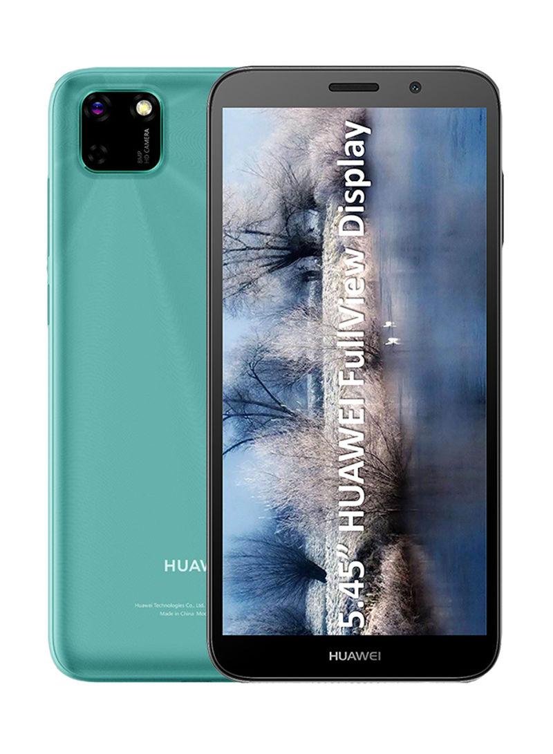 هاتف Y5P ببطاقة SIM مزدوجة وذاكرة رام 2 جيجابايت وذاكرة داخلية 32 جيجابايت وتقنية 4G LTE، لون أخضر