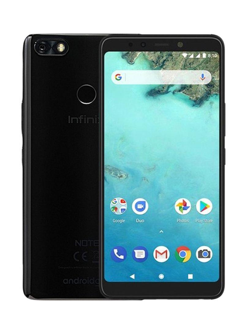 هاتف X604 نوت 5 ثنائي الشريحة لون ميلان بلاك بذاكرة داخلية سعة 32 جيجابايت