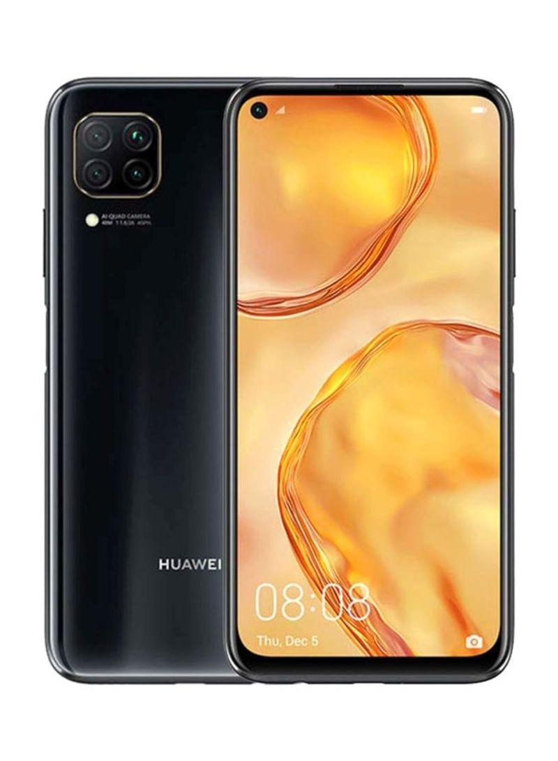 هاتف نوفا 7i بشريحتين وذاكرة رام سعة 8 جيجابايت وذاكرة داخلية سعة 128 جيجابايت ومزود بتقنية 4G LTE لون أسود حالك
