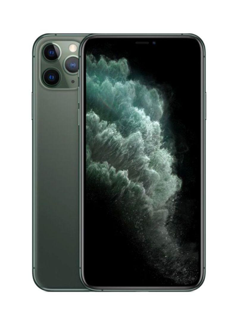 آيفون 11 برو سعة 64 جيجابايت يدعم تقنية 4G LTE و فايس تايم، أخضر ميدنايت - مواصفات عالمية