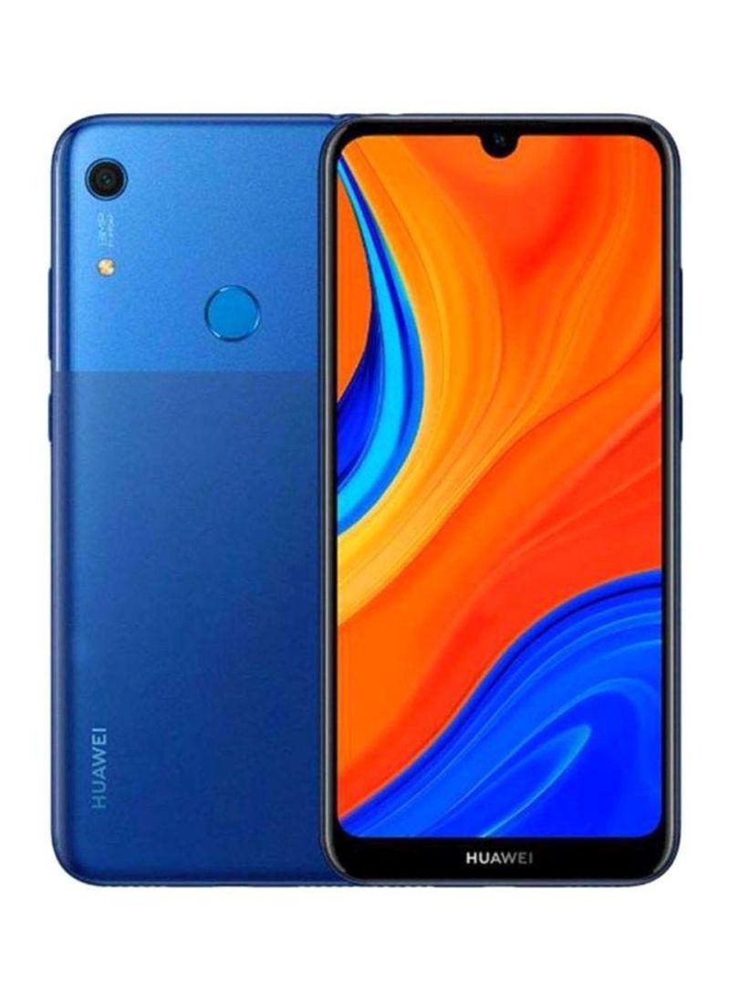 هاتف Y6s ثنائي الشريحة أوركيد بلون أزرق، بسعة 3 جيجابايت وذاكرة وصول عشوائي 64 جيجابايت ويدعم تقنية الجيل الرابع LTE