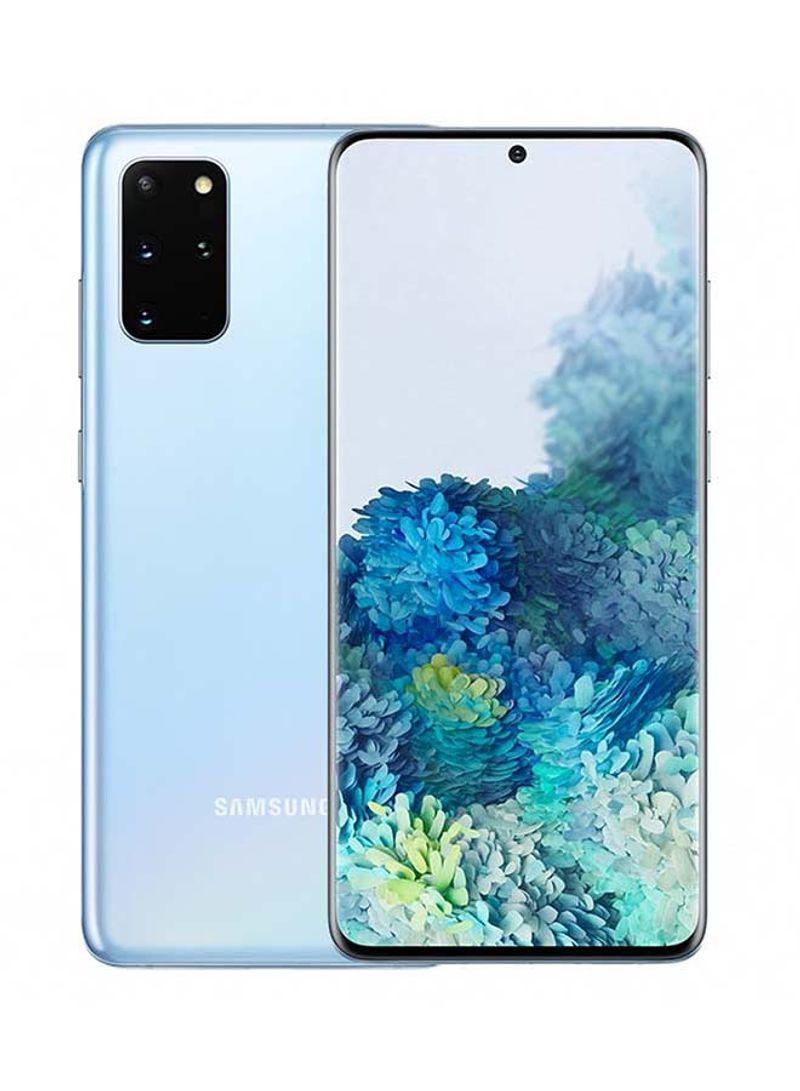 هاتف جالاكسي S20 بلس بشريحة واحدة لون أزرق سماوي مع ذاكرة داخلية سعة 128 غيغابايت وذاكرة رام سعة 8 غيغابايت، يدعم تقنية 4G LTE