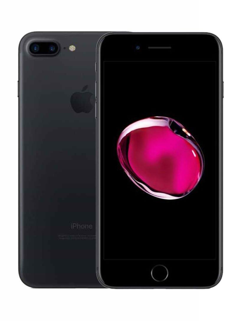 آيفون 7 بلس بخاصية فيس تايم لون أسود سعة 32 جيجابايت ومزود بخدمة 4G LTE