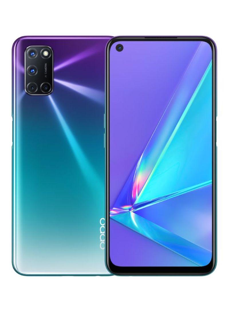 هاتف A92 ثنائي الشريحة بلون الشفق الأرجواني بذاكرة رام سعة 8 جيجابايت وذاكرة داخلية سعة 128 جيجابايت ويدعم تقنية 4G LTE