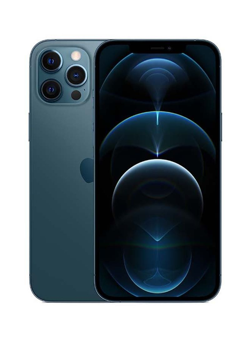iPhone 12 Pro Max With Facetime 256GB Pacific Blue 5G - International Specs