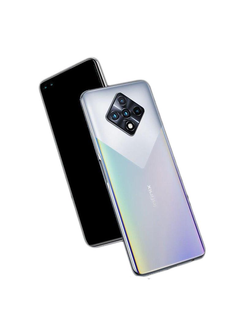 هاتف X687 زيرو 8 ثنائي الشريحة بذاكرة رام 8 جيجابايت وسعة داخلية 128 جيجابايت يدعم تقنية 4G LTE - فضي ماسي