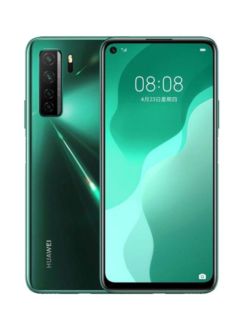 هاتف نوفا 7 إس إي ثنائي الشريحة لون أخضر كراش بذاكرة رام سعة 8 جيجابايت وذاكرة داخلية سعة 128 جيجابايت ومزود بتقنية 5G LTE