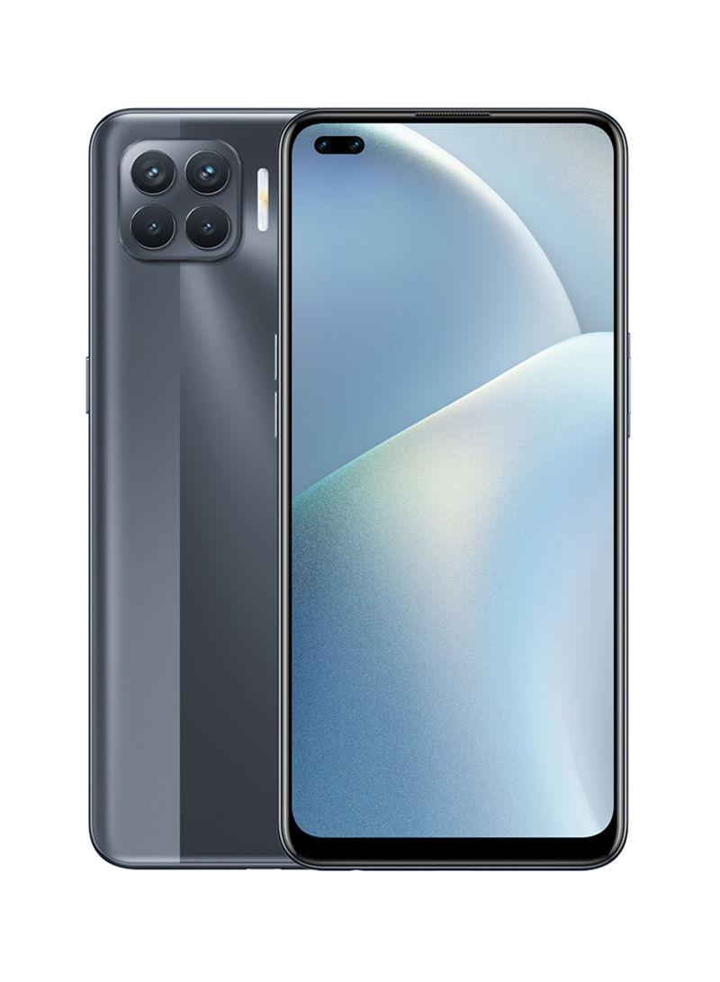 هاتف A93 بشريحتين بلون أسود ماط وذاكرة رام 8 جيجابايت وذاكرة داخلية سعة 128 جيجابايت ويدعم تقنية 4G LTE