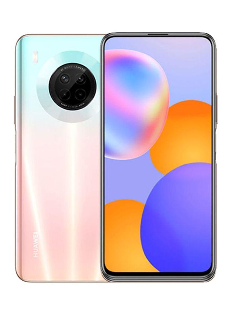 هاتف Y9A بينك ساكورا ثنائي الشريحة بذاكرة رام 8 جيجابايت وذاكرة داخلية سعة 128 جيجابايت يدعم تقنية 4G LTE - نسخة الإمارات