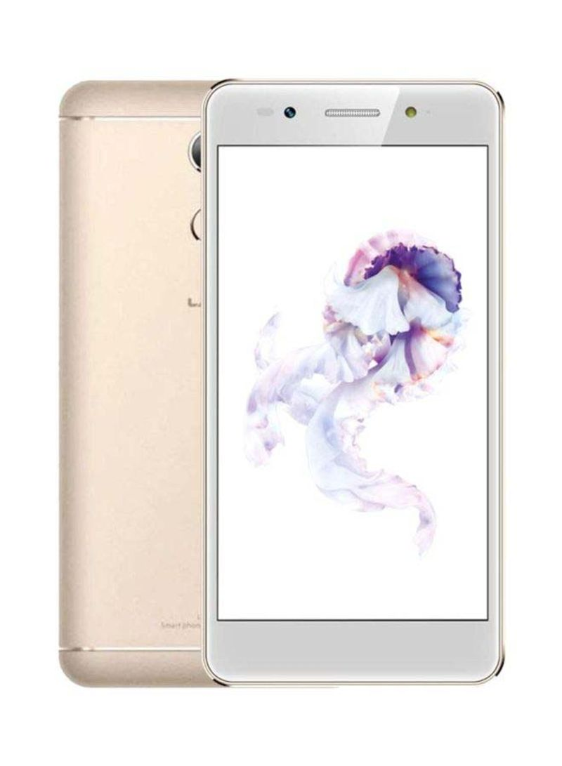 هاتف A3 ثنائي الشريحة بذاكرة رام سعة 3 جيجابايت وذاكرة داخلية سعة تخزين 32 جيجابايت يدعم تقنية 4G LTE بلون ذهبي