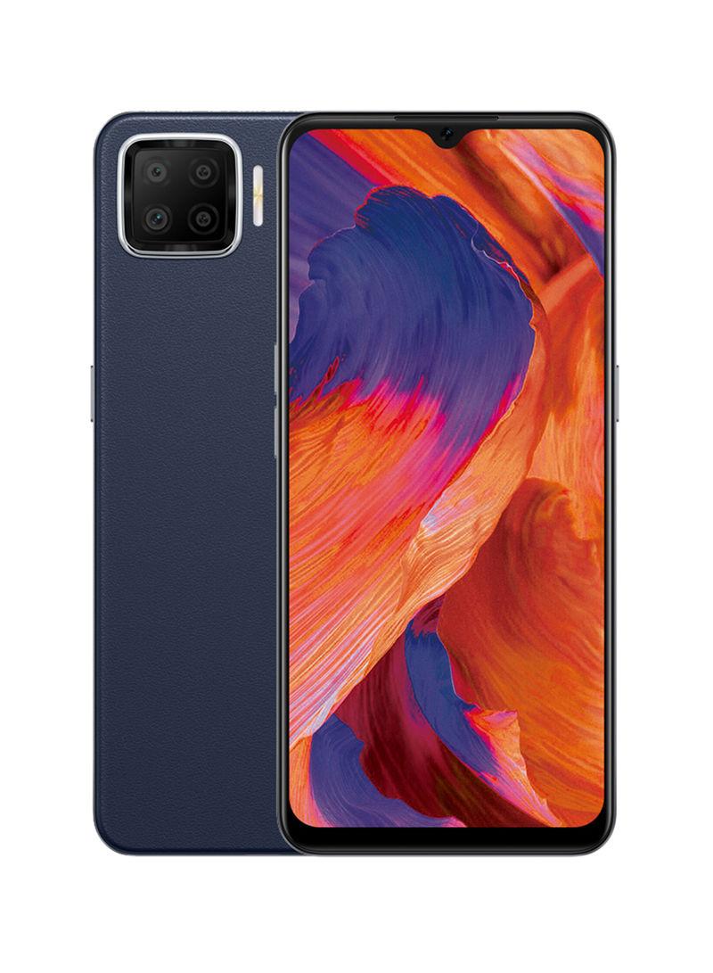 هاتف A73 ثنائي الشريحة، بذاكرة داخلية 128 جيجابايت وذاكرة رام 6 جيجابايت، يدعم تقنية 4G LTE لون كحلي