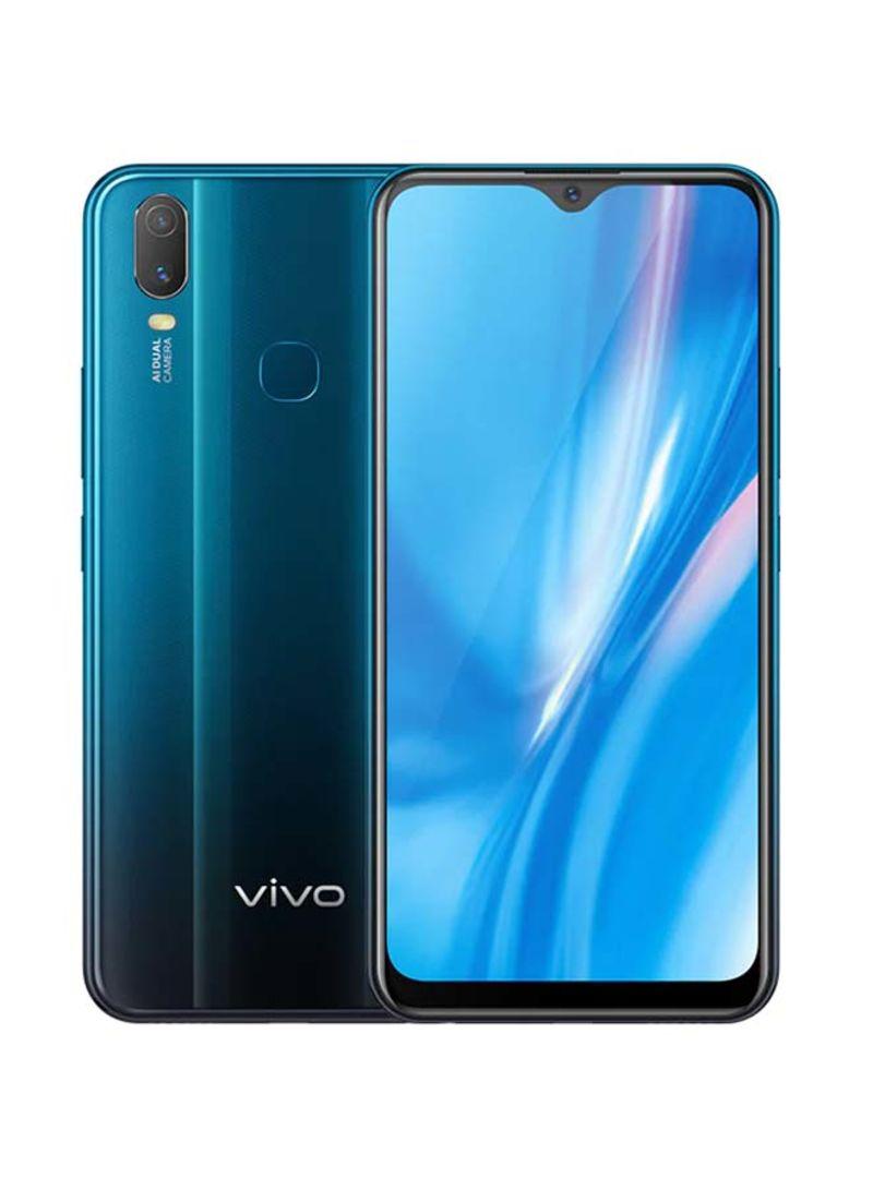 موبايل Y11 (2019) بشريحتين لون أزرق معدني بذاكرة رام 3 جيجابايت وذاكرة داخلية 32 جيجابايت ويدعم تقنية 4G LTE