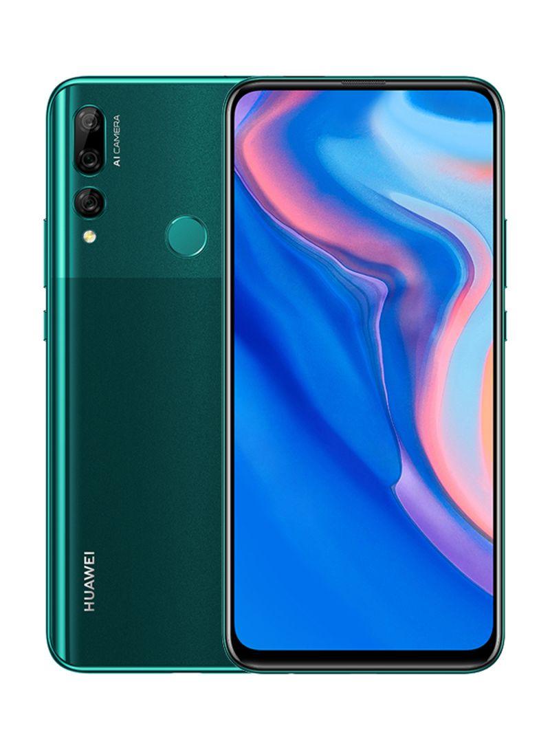 هاتف Y9 برايم ثنائي الشريحة لون أخضر زمردي بذاكرة داخلية سعة 128 جيجابايت وذاكرة رام سعة 4 جيجابايت ويدعم تقنية 4G LTE