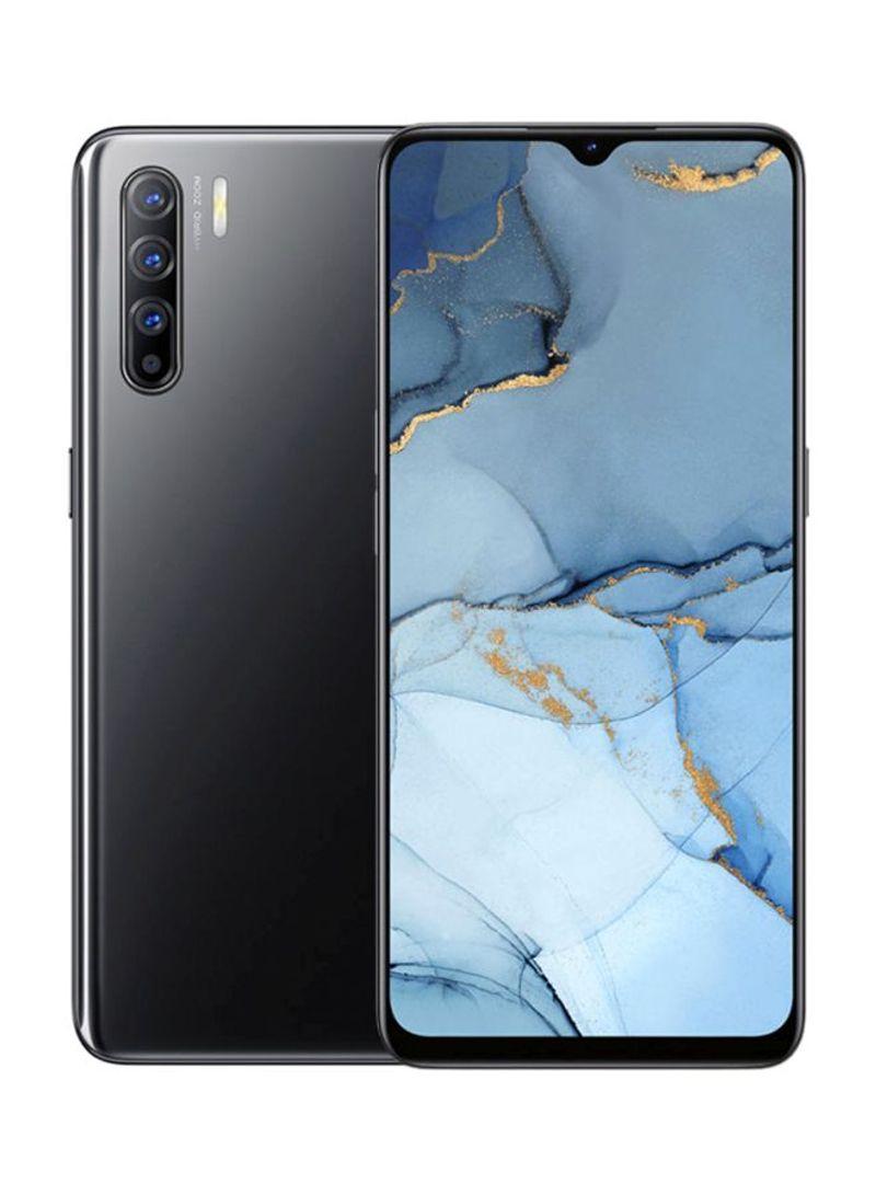 هاتف رينو 3 بشريحتين لون أسود ميدنايت بذاكرة رام سعة 8 جيجابايت وذاكرة داخلية سعة 128 جيجابايت يدعم تقنية الجيل الرابع 4G LTE