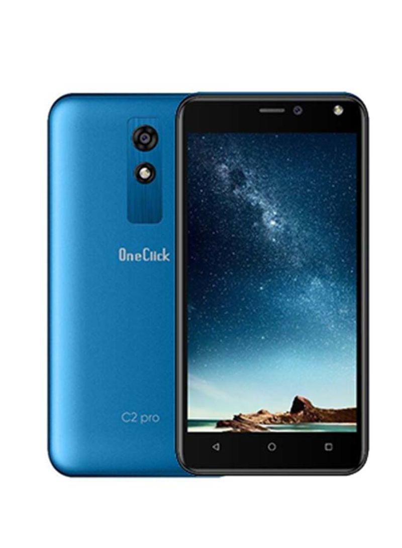هاتف C2 برو بشريحتين بذاكرة داخلية سعة 8 جيجابايت وذاكرة رام سعة 1 جيجابايت يدعم تقنية 3G باللون الأزرق