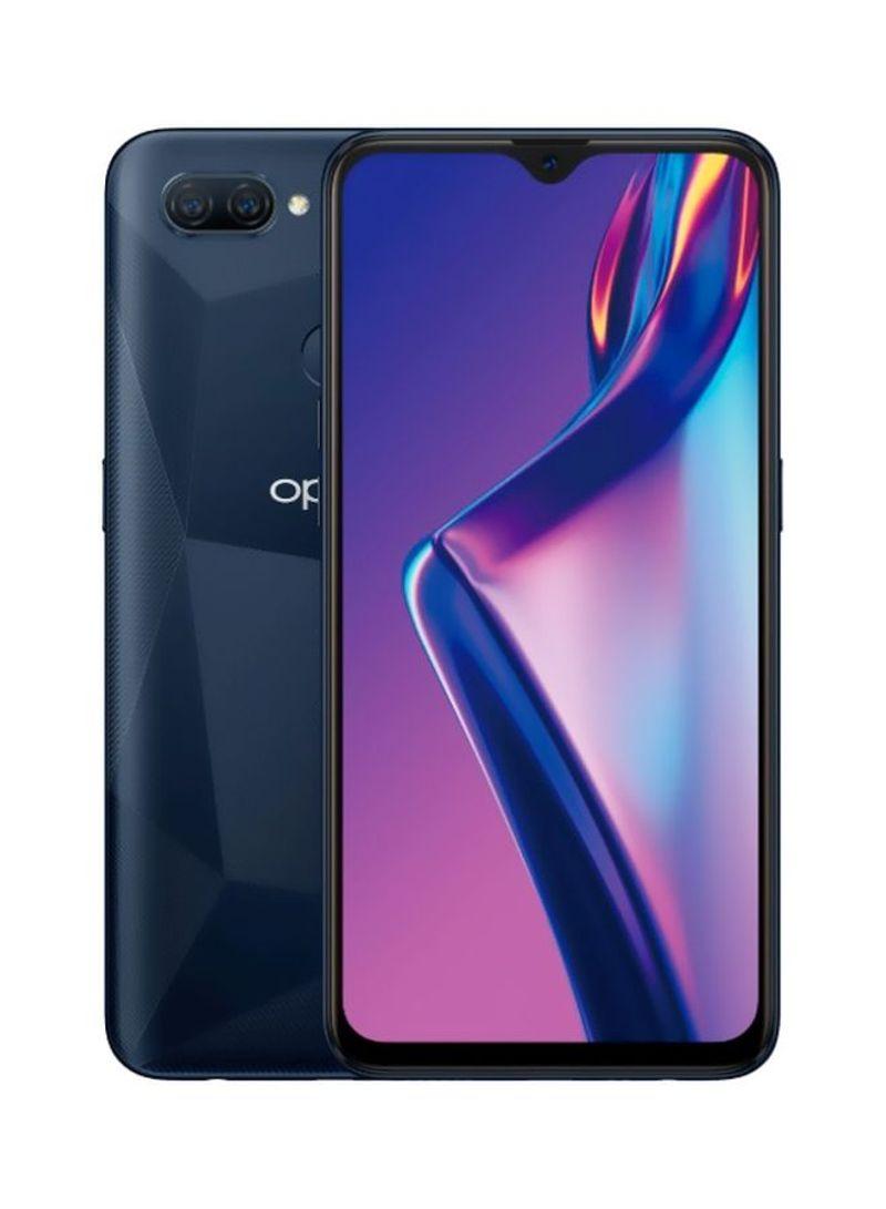 هاتف A12 ثنائي الشريحة بذاكرة رام سعة 3 جيجابايت وذاكرة داخلية سعة 32 جيجابايت يدعم تقنية 4G LTE بلون أسود