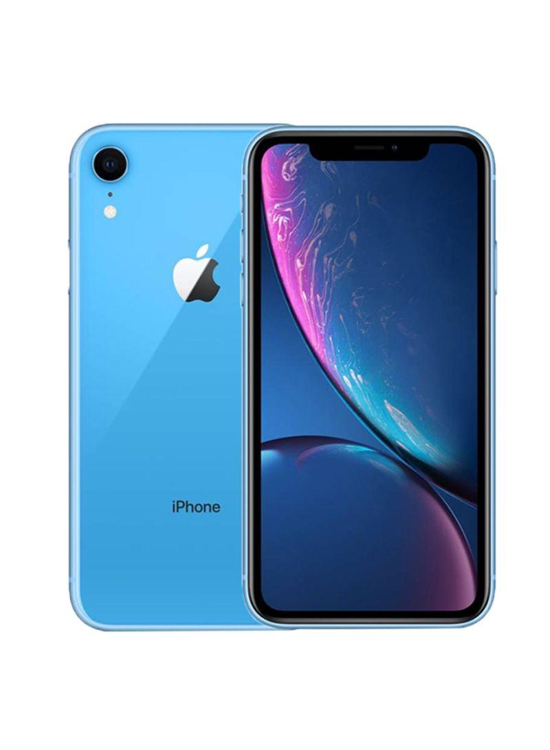 iPhone XR Dual Sim With Facetime Blue 64GB 4G LTE - HK Specs