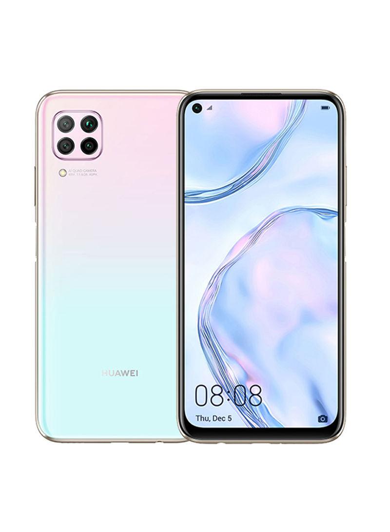 هاتف نوفا 7i بشريحتين وذاكرة رام سعة 8 جيجابايت وذاكرة داخلية سعة 128 جيجابايت ومزود بتقنية 4G LTE لون ساكورا وردي