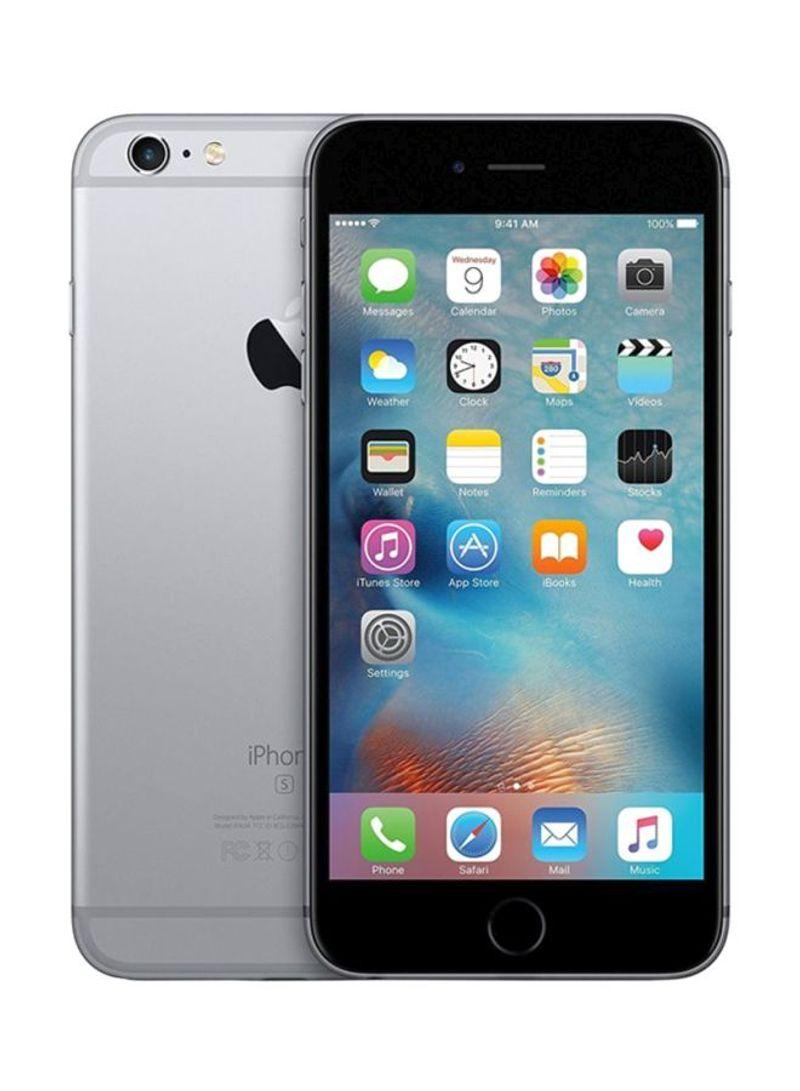 هاتف آيفون 6s بلس لون رمادي بذاكرة 32 غيغابايت يدعم 4G LTE