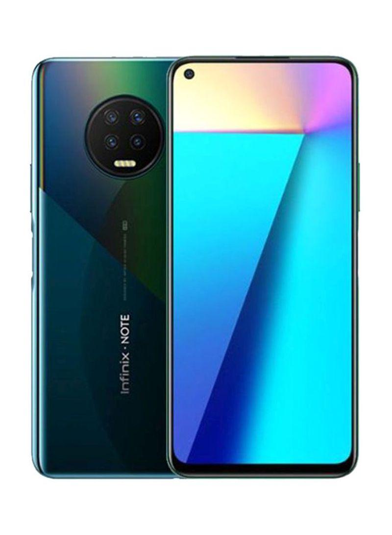 هاتف نوت 7 ثنائي الشريحة لون أسود إثير بذاكرة رام سعة 6 جيجابايت وذاكرة داخلية سعة 128 جيجابايت ويدعم تقنية 4G LTE