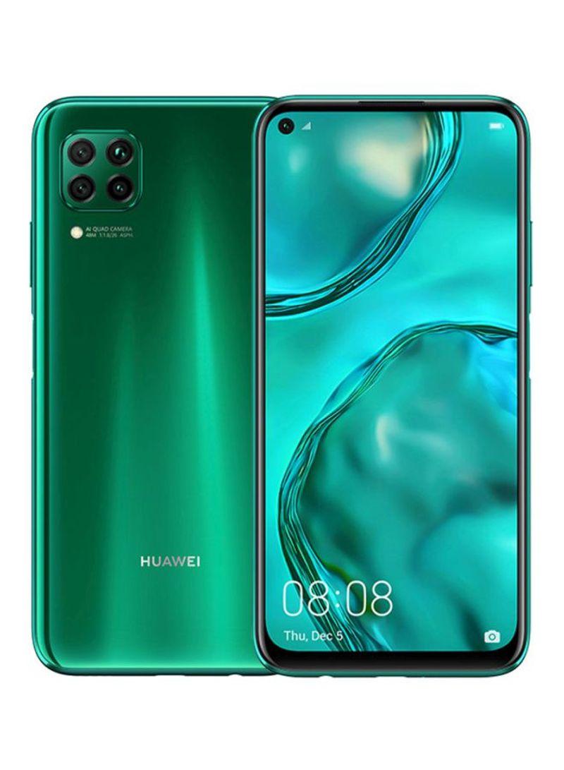 هاتف نوفا 7i بشريحتين وذاكرة رام سعة 8 جيجابايت وذاكرة داخلية سعة 128 جيجابايت ومزود بتقنية 4G LTE لون كراش أخضر