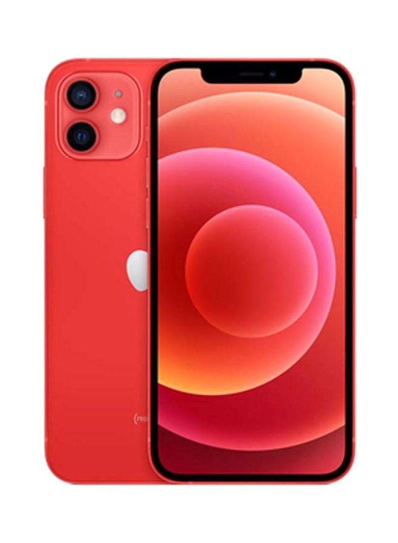 آيفون 12 ثنائي الشريحة مع فيس تايم سعة 128 جيجابايت يدعم 5G أحمر - نسخة هونج كونج