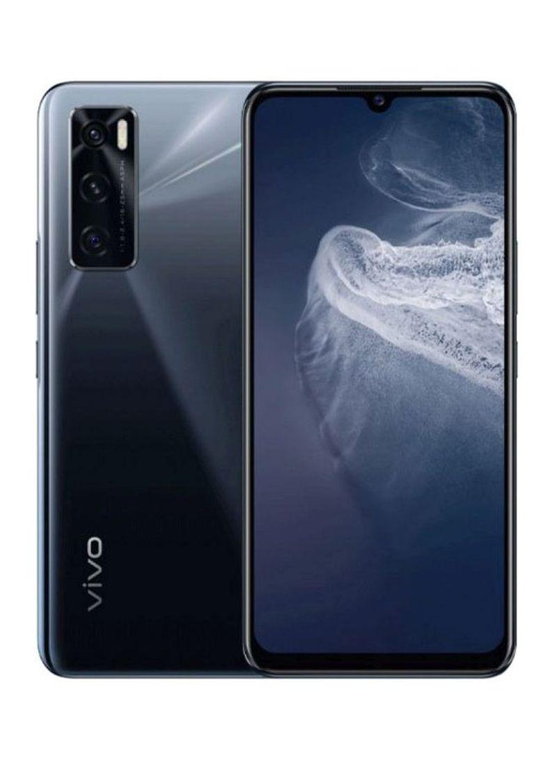 هاتف V20 SE ثنائي الشريحة بلون أسود جرافيتي، ذاكرة رام سعة 8 جيجابايت، ذاكرة داخلية سعة 128 جيجابايت، يدعم تقنية 4G LTE