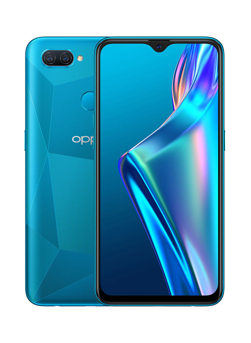 هاتف A12 بشريحتين بلون أزرق وذاكرة رام 3 جيجابايت وذاكرة داخلية سعة 32 جيجابايت ويدعم تقنية 4G LTE