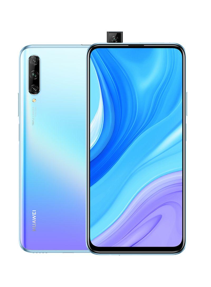 هاتف Y9s بشريحتي اتصال مع ذاكرة رام 6 جيجابايت وذاكرة داخلية 128 جيجابايت يدعم تقنية 4G LTE، بريزينج كريستال
