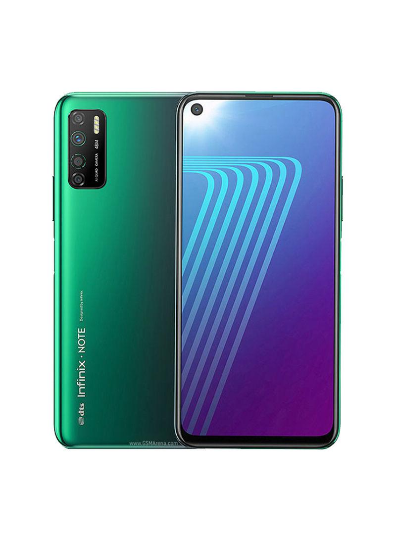 هاتف نوت 7 لايت ثنائي الشريحة لون أخضر فوريست بذاكرة رام سعة 4 جيجابايت وذاكرة داخلية سعة 128 جيجابايت ويدعم تقنية 4G LTE