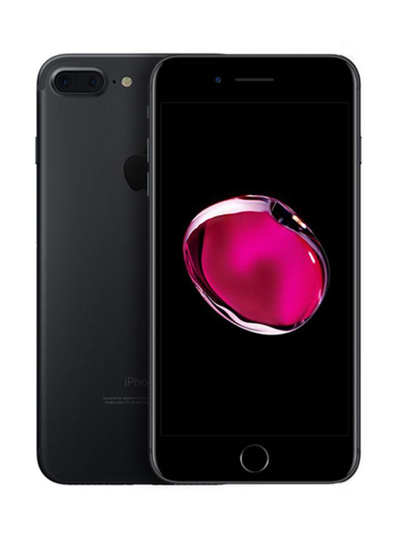 آيفون 7 بلس بخاصية فيس تايم لون أسود سعة 128 جيجابايت ومزود بخدمة 4G LTE