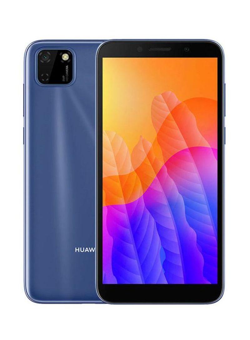 هاتف Y5P ثنائي الشريحة بلون فانتوم بلو وذاكرة رام سعة 2 جيجابايت وذاكرة داخلية سعة 32 جيجابايت ويدعم تقنية 4G LTE