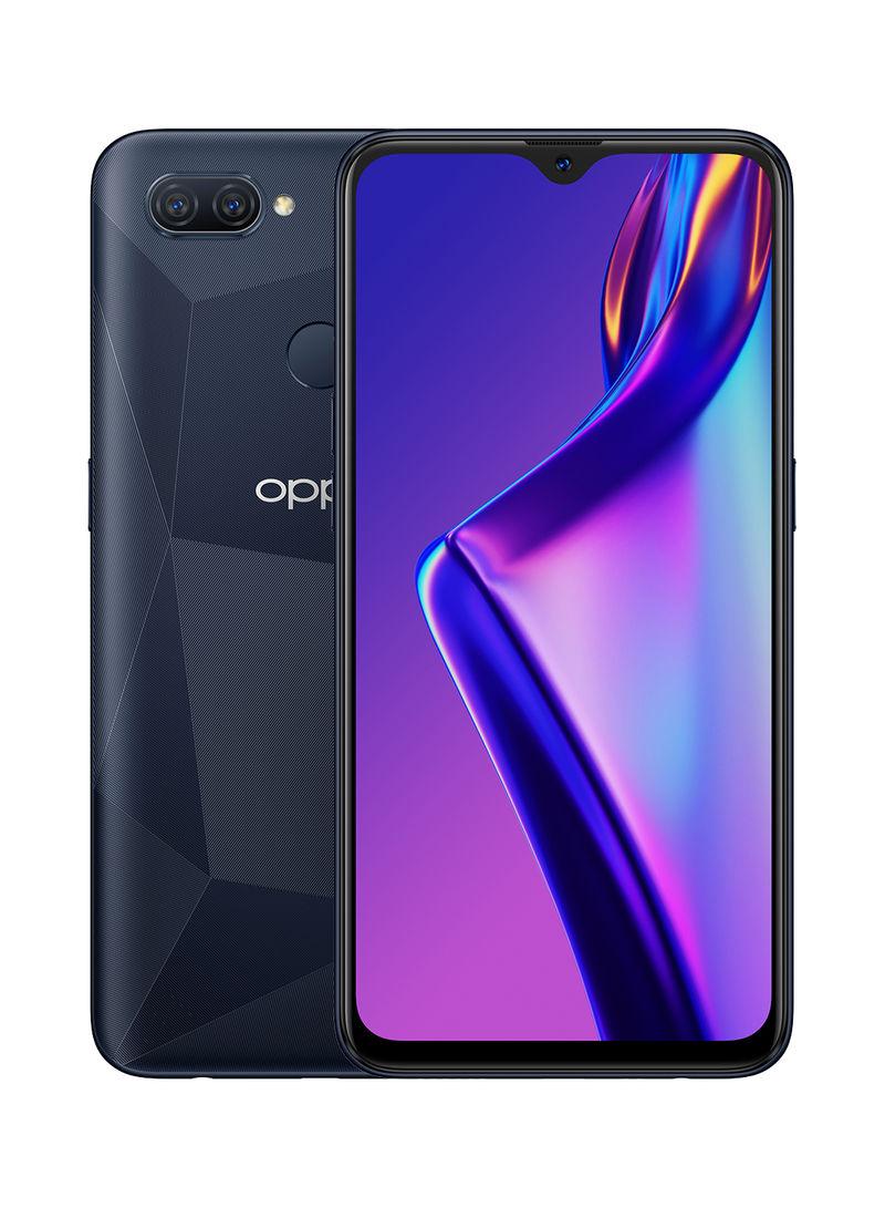 هاتف A12 ثنائي الشريحة لون أسود مع ذاكرة داخلية سعة 32 غيغابايت وذاكرة رام سعة 3 غيغابايت، يدعم تقنية 4G LTE