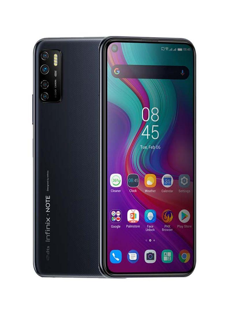 هاتف نوت 7 لايت ثنائي الشريحة لون رمادي فلكي بذاكرة رام سعة 4 جيجابايت وذاكرة داخلية سعة 128 جيجابايت ويدعم تقنية 4G LTE