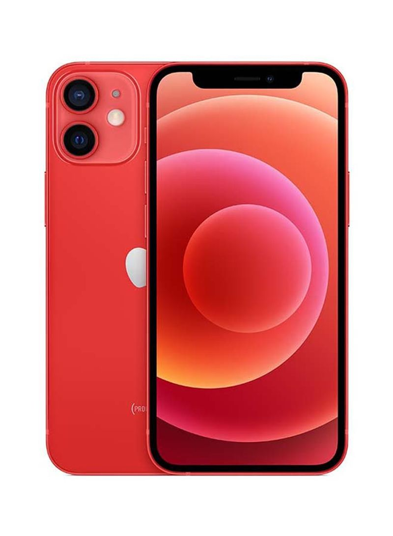 iPhone 12 Mini With Facetime 128GB (Product) Red 5G - International Specs