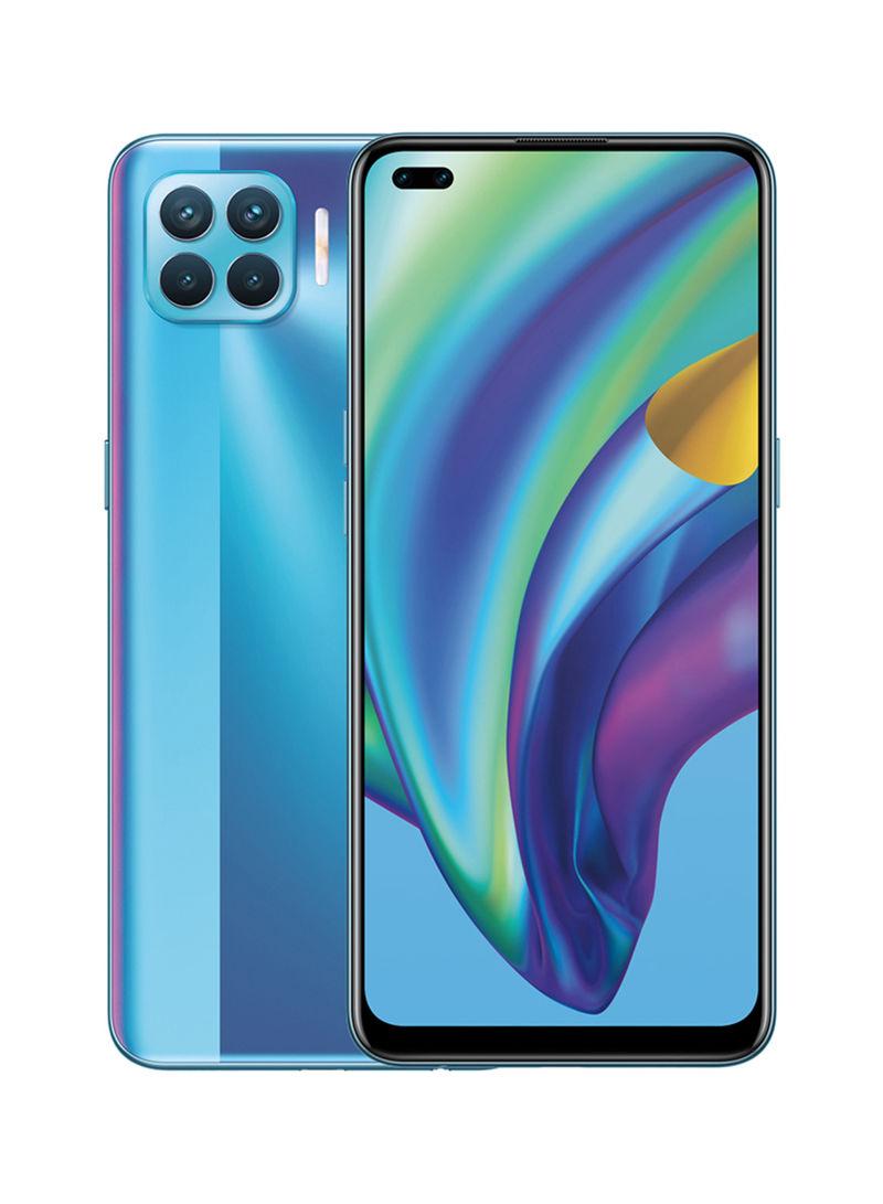 هاتف A93 بشريحتين بلون ماجيك بلو وذاكرة رام 8 جيجابايت وذاكرة داخلية سعة 128 جيجابايت ويدعم تقنية 4G LTE