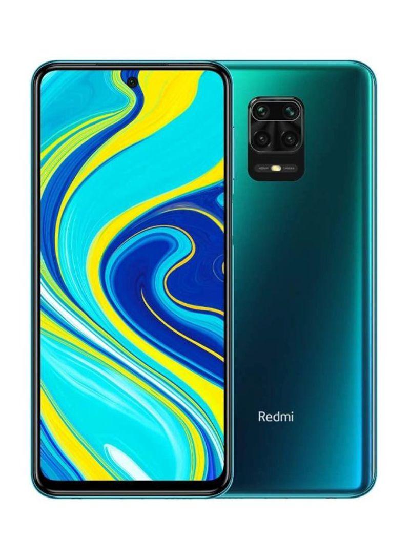 هاتف ريدمي نوت 9S بلون الشفق الأزرق مزود بشريحتي اتصال وذاكرة رام سعة 6 جيجابايت وذاكرة داخلية 128 جيجابايت يدعم تقنية 4G LTE