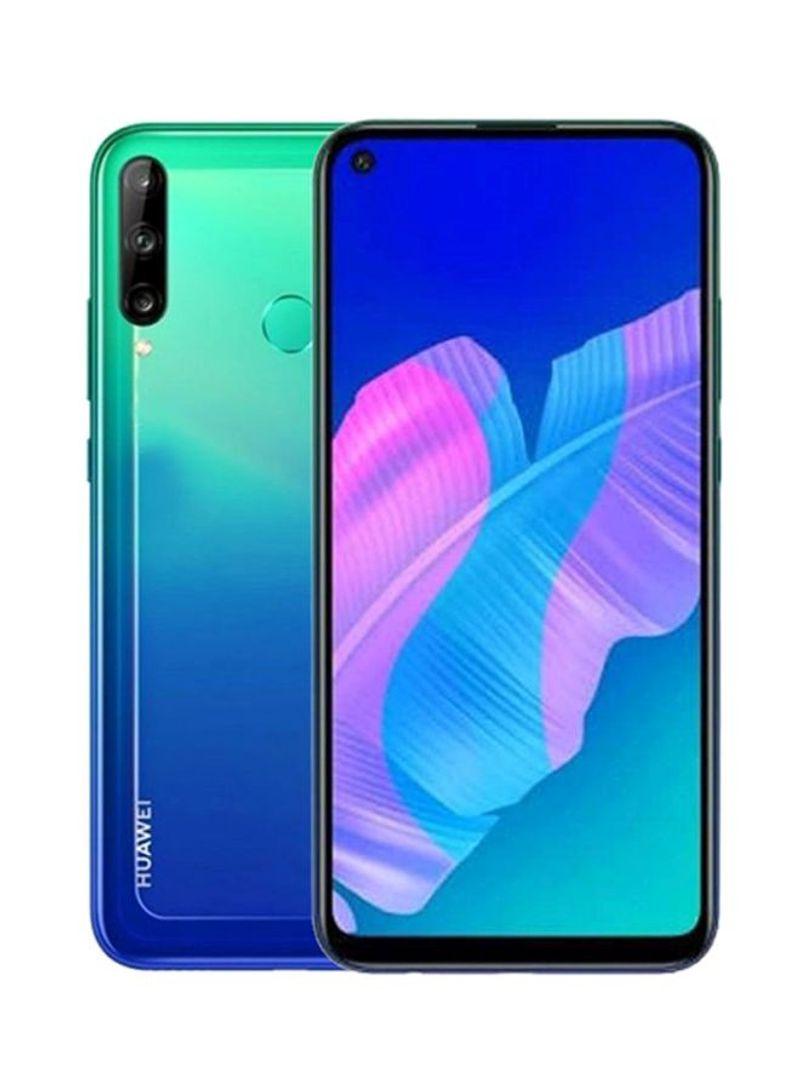 هاتف Y7P بشريحتين ولون أزرق أورورا بذاكرة رام سعة 4 جيجابايت وذاكرة داخلية سعة 64 جيجابايت ومزود بتقنية 4G LTE