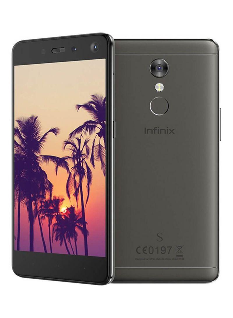 هاتف X522 برو هوت S2 ثنائي الشريحة لون أسود بذاكرة تخزين داخلية بسعة 32 غيغابايت ويدعم خاصية الاتصال من الجيل الرابع LTE