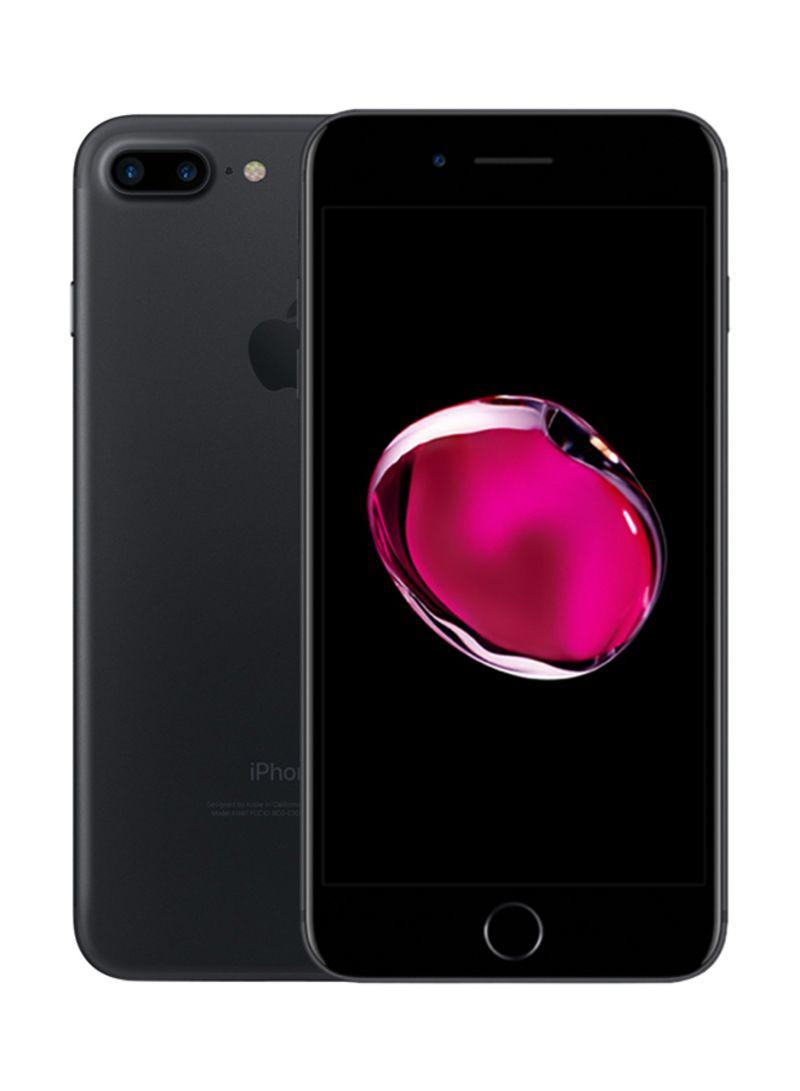 آيفون 7 بلس بخاصية فيس تايم لون أسود سعة 256 جيجابايت ومزود بخدمة 4G LTE