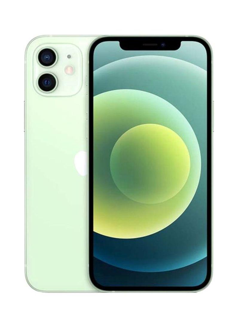 آيفون 12 مع فيس تايم بسعة 128 جيجابايت يدعم 5G أخضر - نسخة الشرق الأوسط